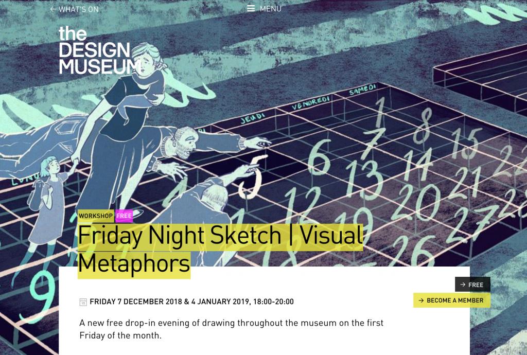 Screenshot einer Veranstalltung von MOO und the DESIGN MUSEUM.