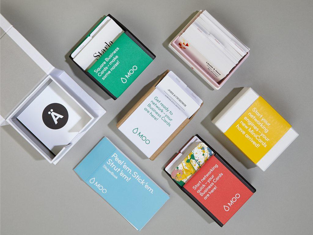 Bild der Verpackung einer Bestellung bei MOO.